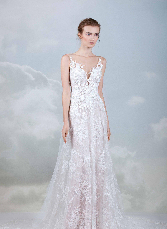 3e2f816ce تألقي بأجدد فساتين زفاف 2019 هذا الشتاء